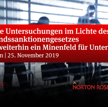 "Accuracy & Norton Rose Seminar ""Interne Untersuchung"""